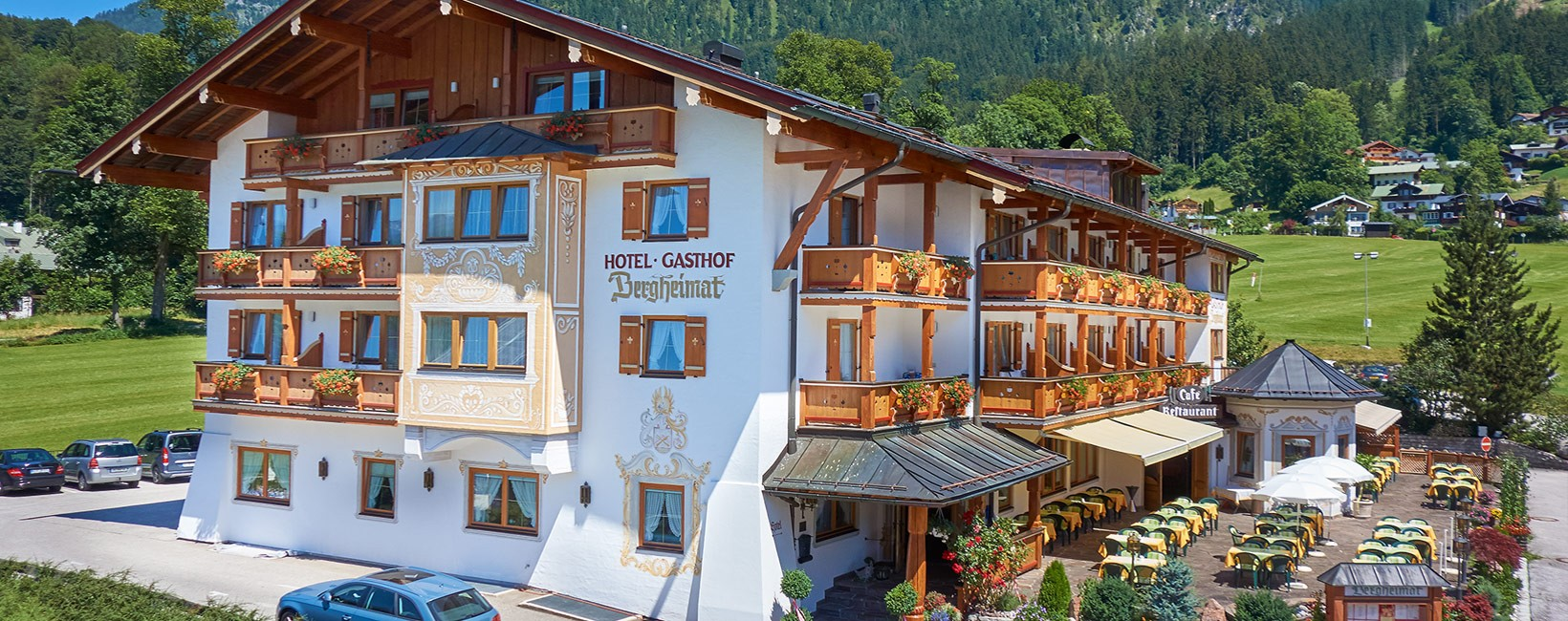 Hotel Bergheimat Sommer
