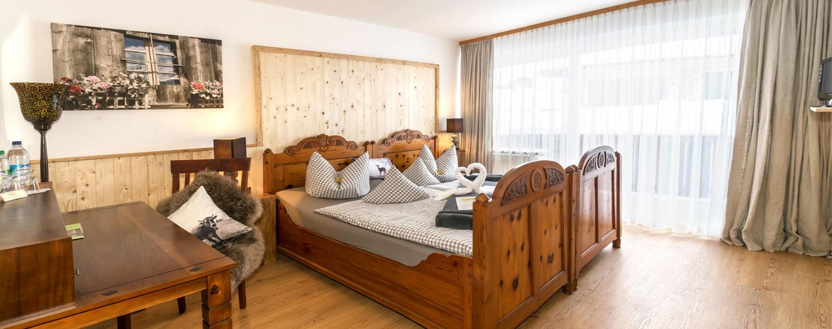 Hotel-Pension Grünsteinblick im Winter