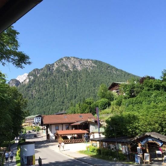 Ausblick Fewo Hinterbrandner in Schönau