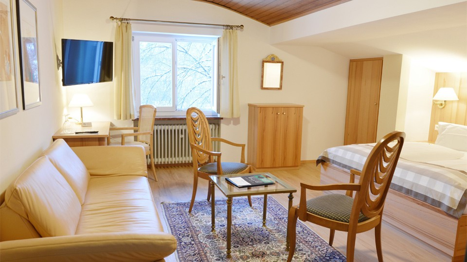 Stoll's Hotel Alpina Doppelzimmer