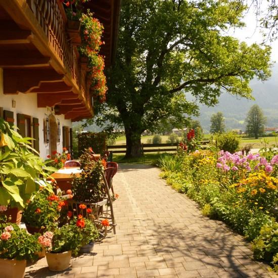 Ferienwohnungen Rennerlehen Königssee Terrasse