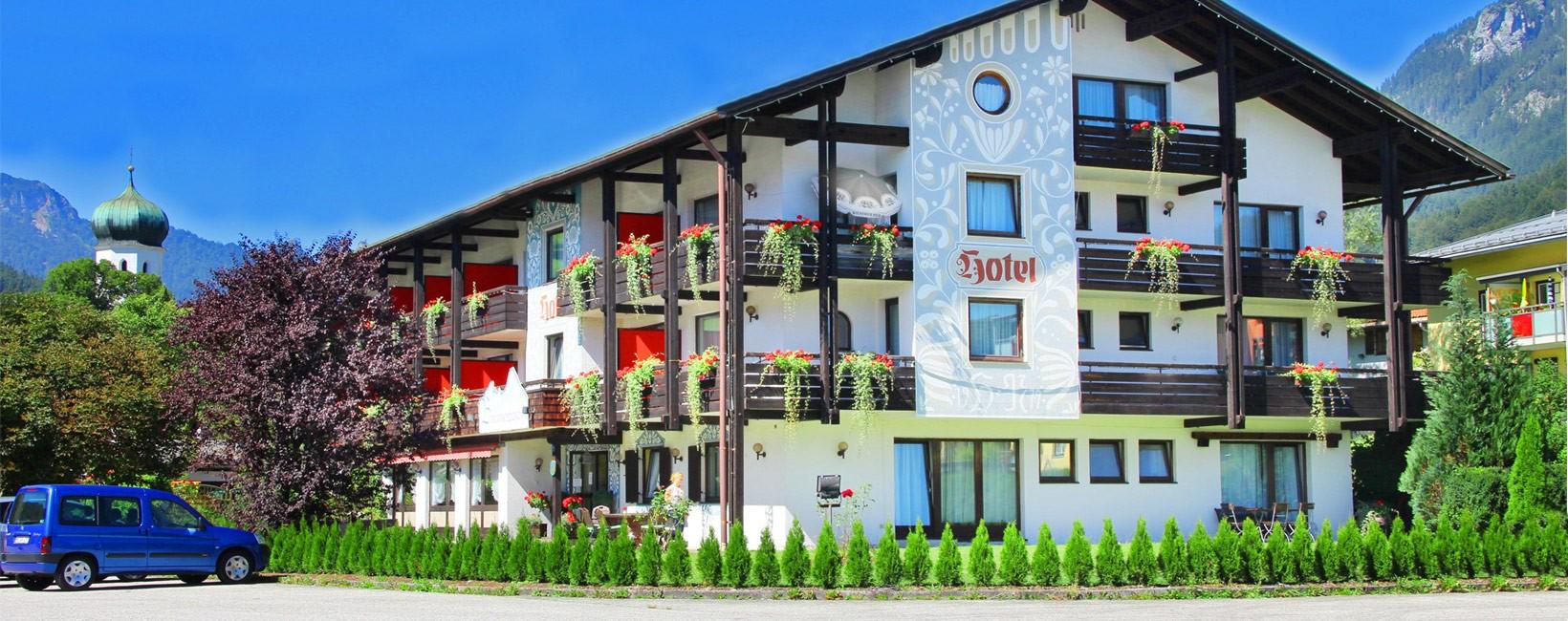 Hotel Brennerbascht Sommer