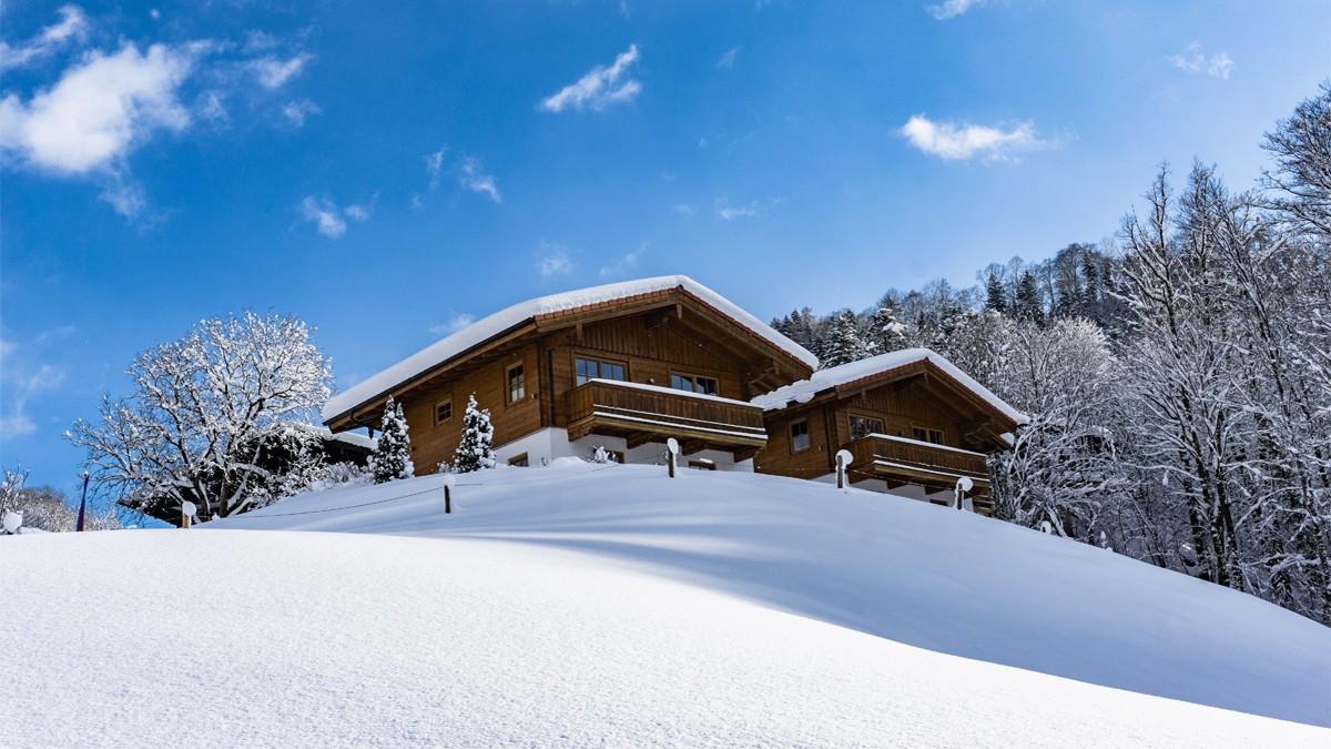 Die Chalets Lampllehen im Winter