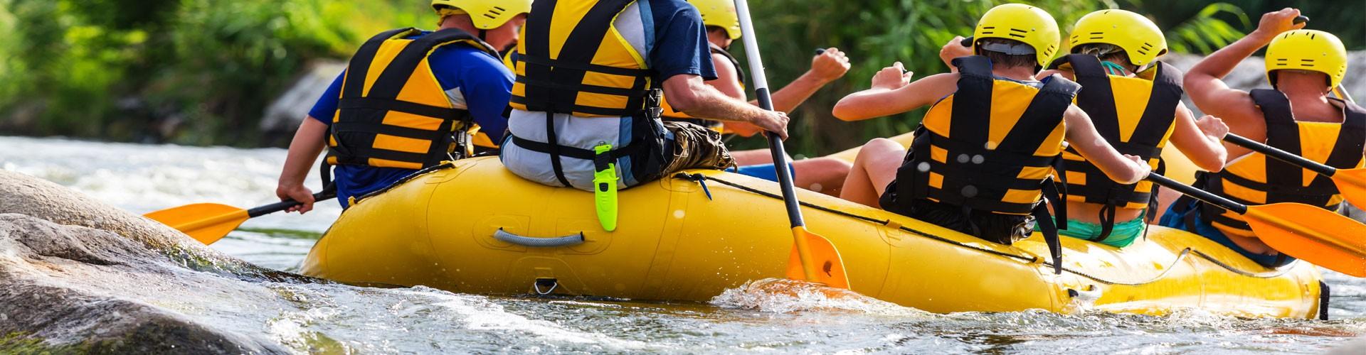 Rafting im Berchtesgadener Land