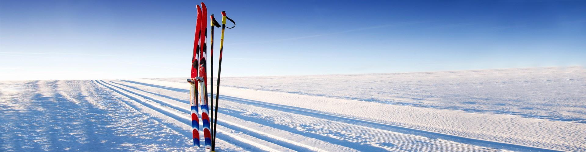 Langlaufausrüstung Skier
