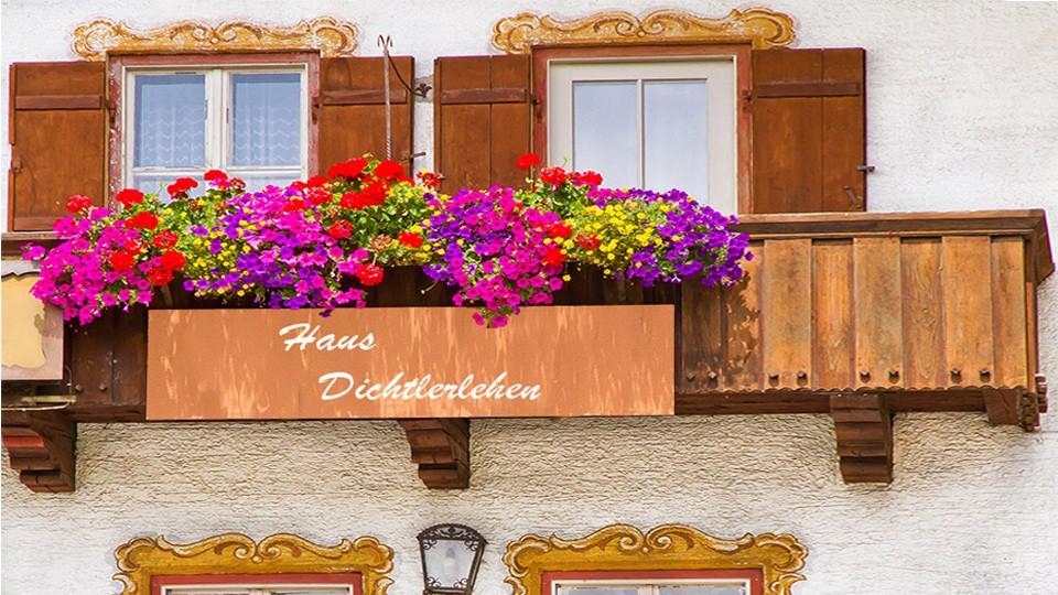 Dichtlerlehen Zimmer Balkon