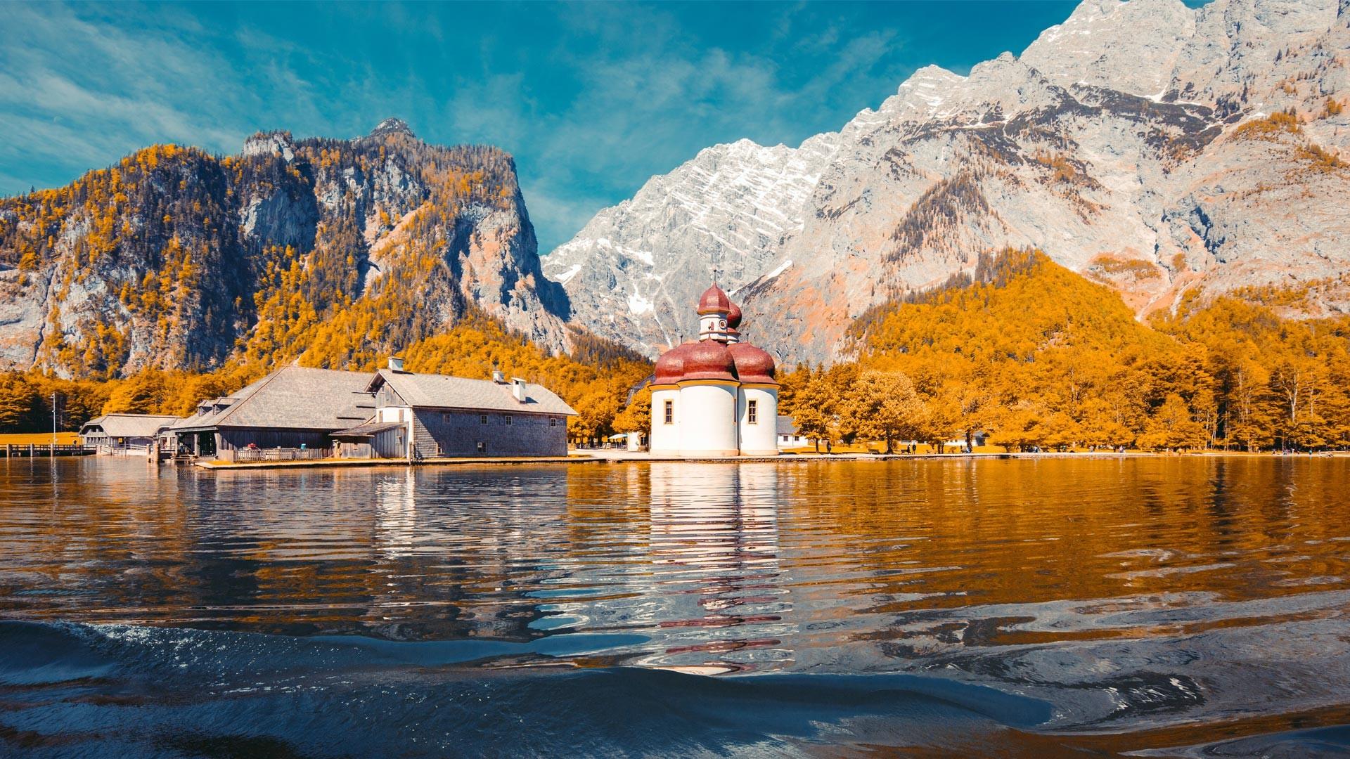 Herbst in Berchtesgaden - Königssee