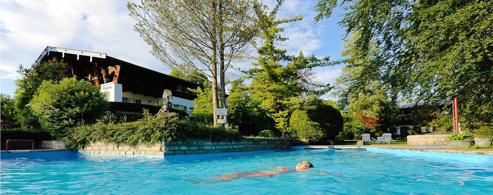 Hotel Alpina Aussenpool