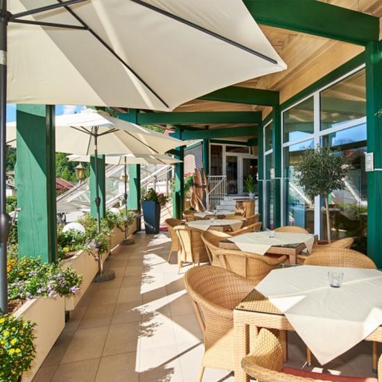 Alpenhotel Fischer Terrasse