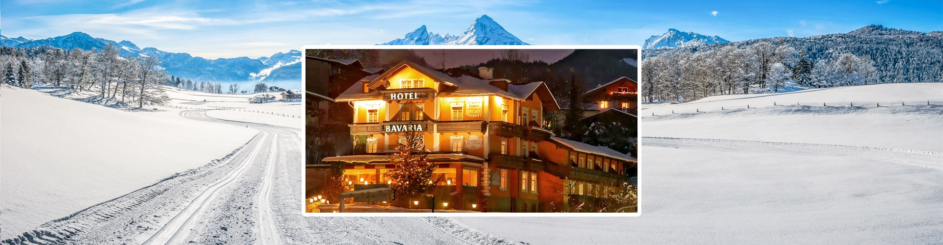 Hotel Bavaria im Winter