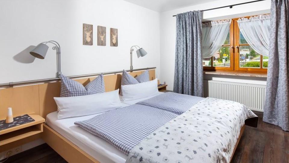 Ferienwohnung Hochgenuss Schlafzimmer