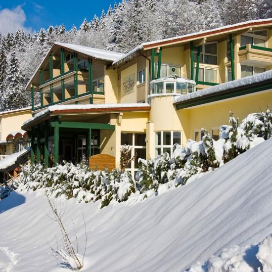 Alpenhotel Fischer Berchtesgaden im Winter