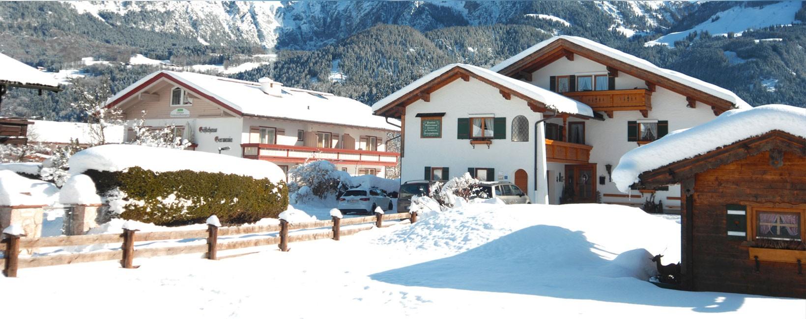Landhaus Maltermoos im Winter