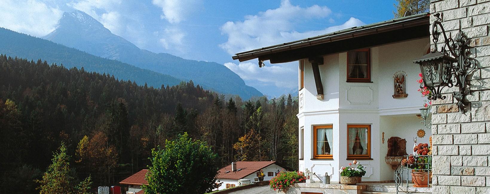 Pension Haus Michael Berchtesgaden im Sommer