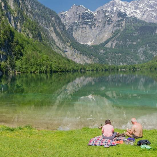 Sommerurlaub an Berchtesgadens Seen