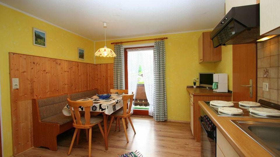 Ferienwohnung Fischkalter - Wohnung 2 Wohnraum mit Küche