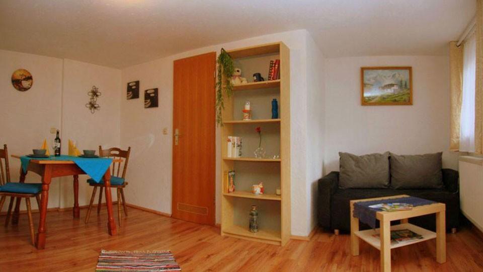 Ferienwohnung Fischkalter - Wohnung 4 Wohnraum mit Küche