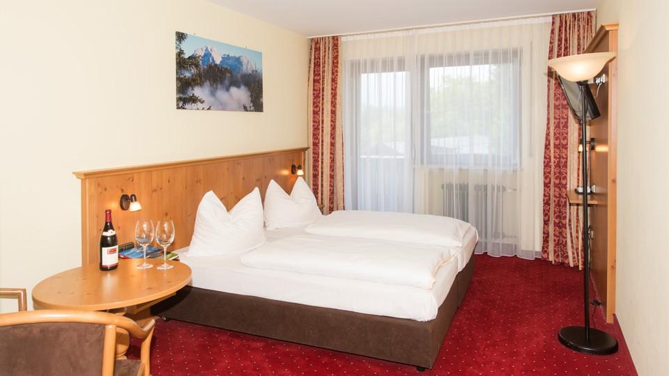 Alpensport-Hotel Seimler Doppelzimmer mit Balkon