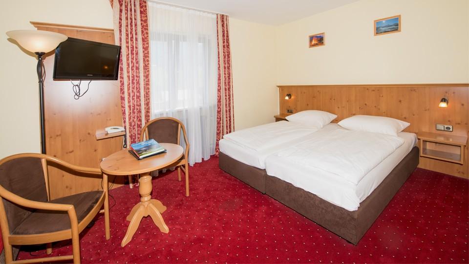 Alpensport-Hotel Seimler Doppelzimmer ohne Balkon