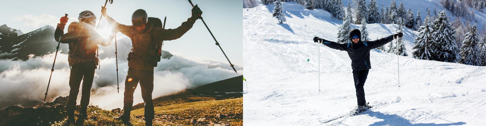 Wandern und Skifahren im Berchtesgadener Land - immer eine gute Idee