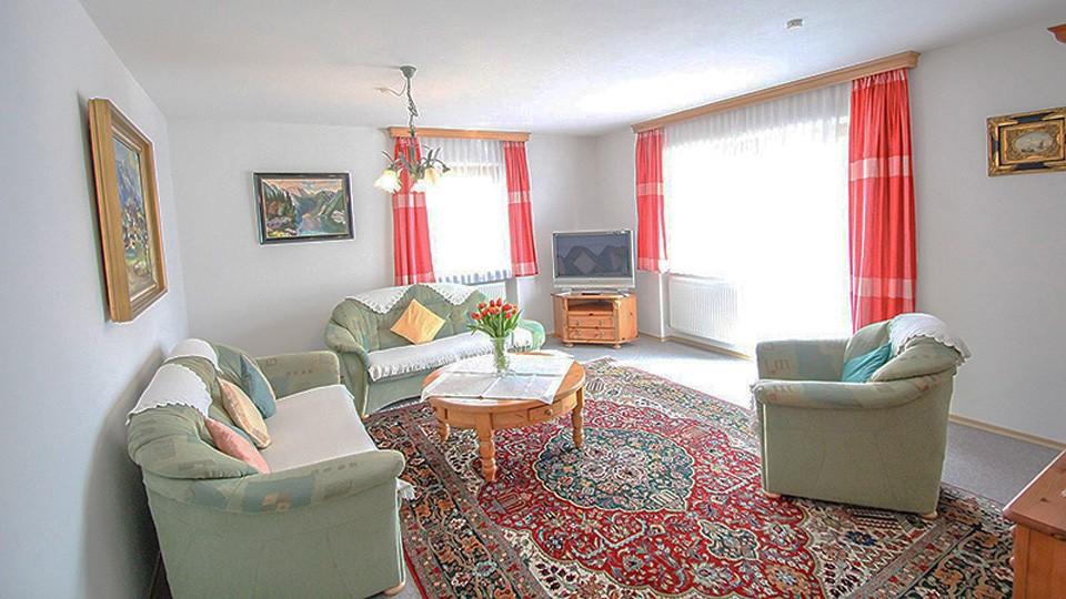 Ferienwohnung Watzmann Wohnzimmer
