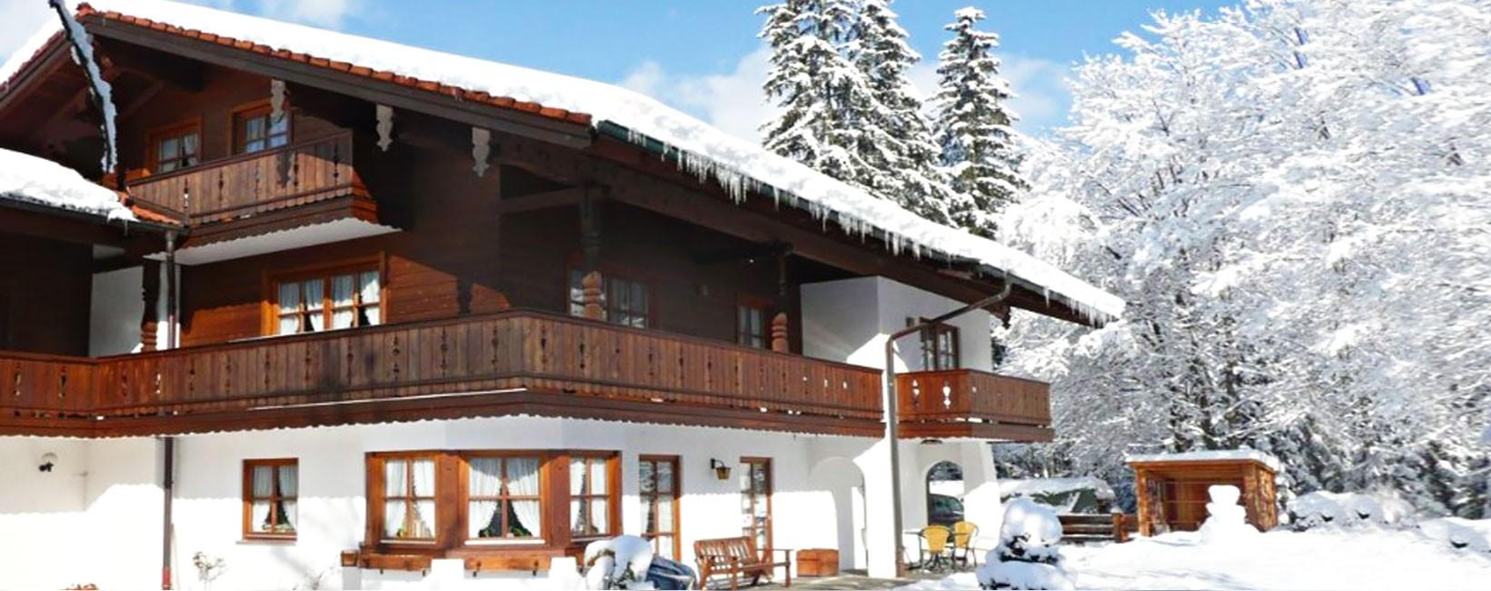 Ferienwohnungen am Tradenlehen im Winter