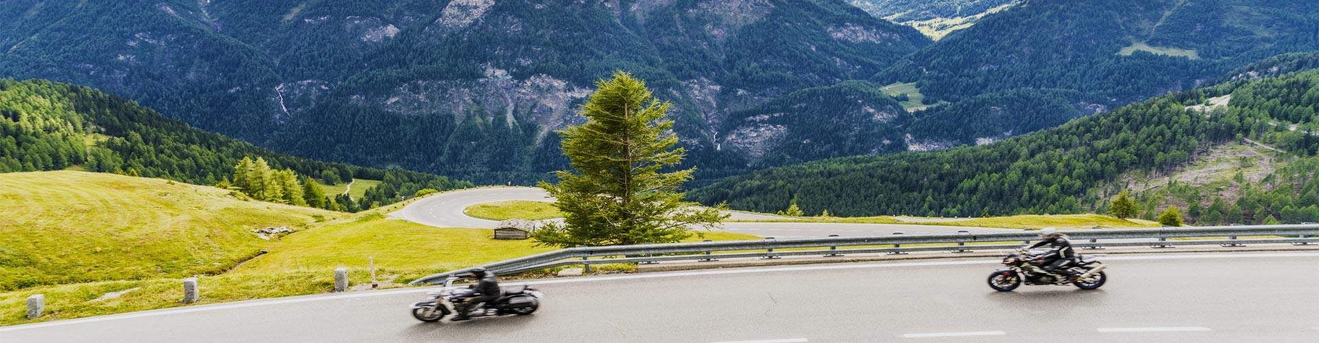 Motorraderlebnisse auf der Deutschen Alpenstraße