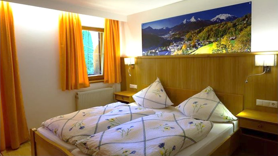 Zimmer 5 im Hotel Lampllehen