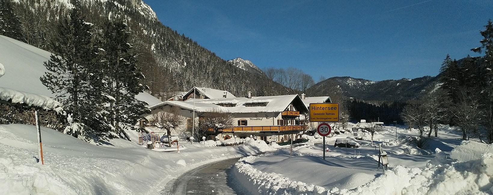 Gasthof Pension Wörndlhof - Hintersee - Berchtesgaden