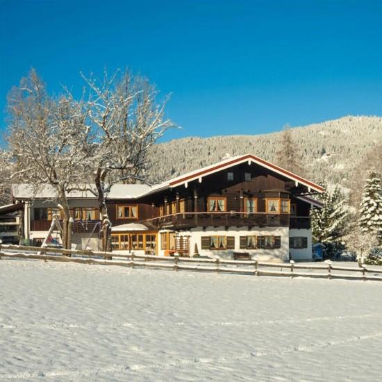 Gästehaus Grünsteineck im Winter