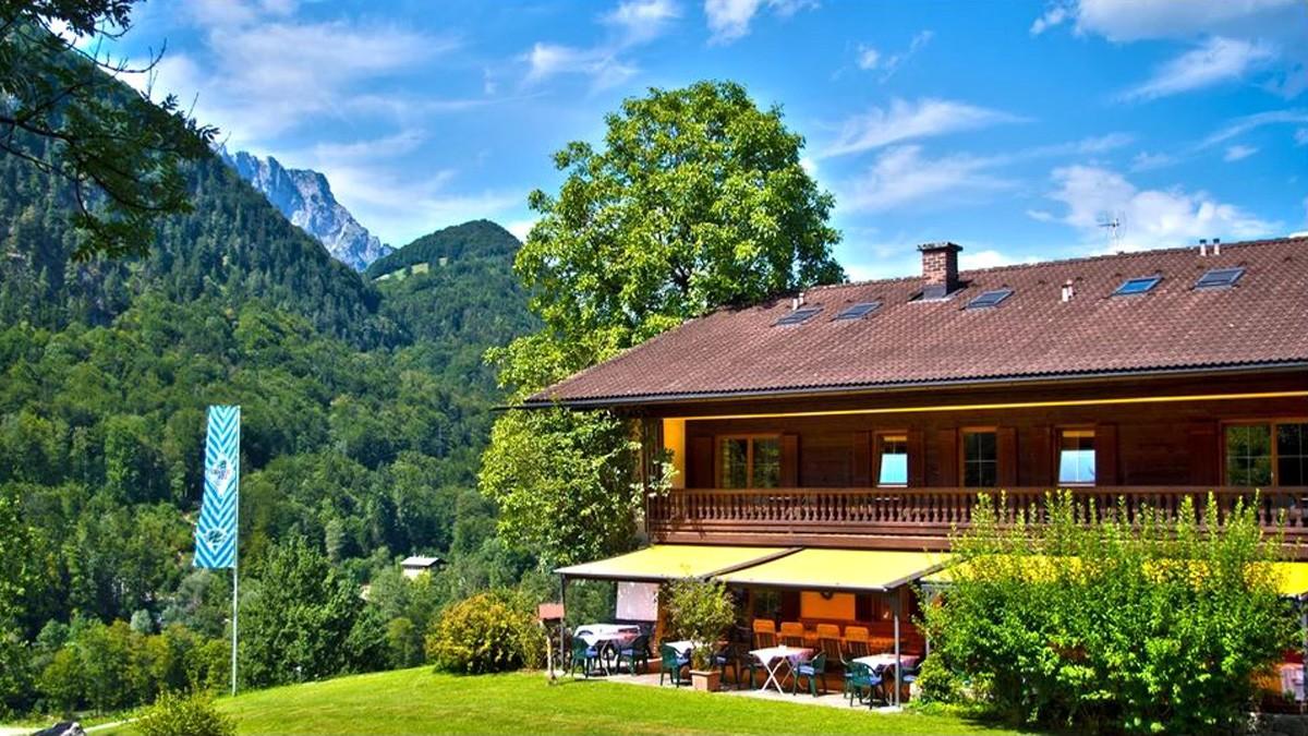 Hotel Lampllehen im Sommer