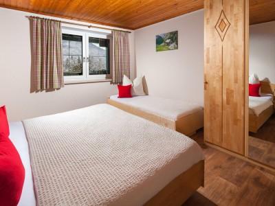Ferienwohnung Terrasse Schlafzimmer