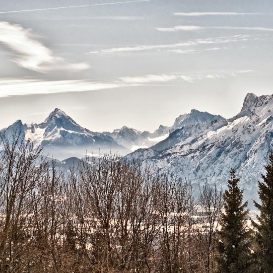 Winterlandschaft Berchtesgadener Land