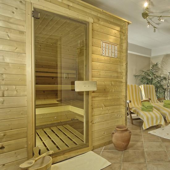 Sauna im Landhaus Eschenbach