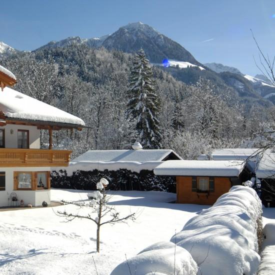 Winter im Landhaus Eschenbach