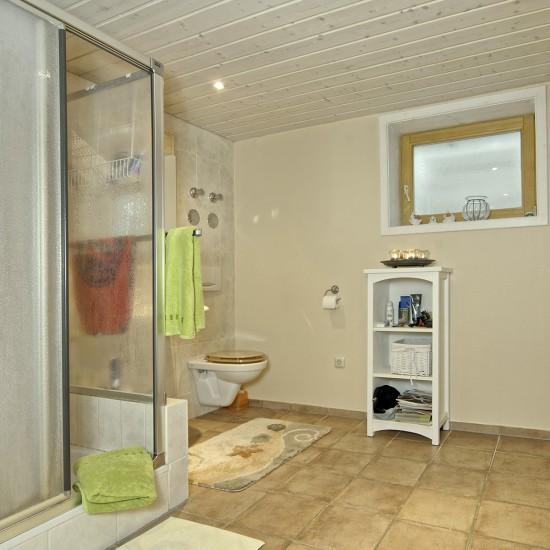 Komfortabler Saunabereich Landhaus Eschenbach