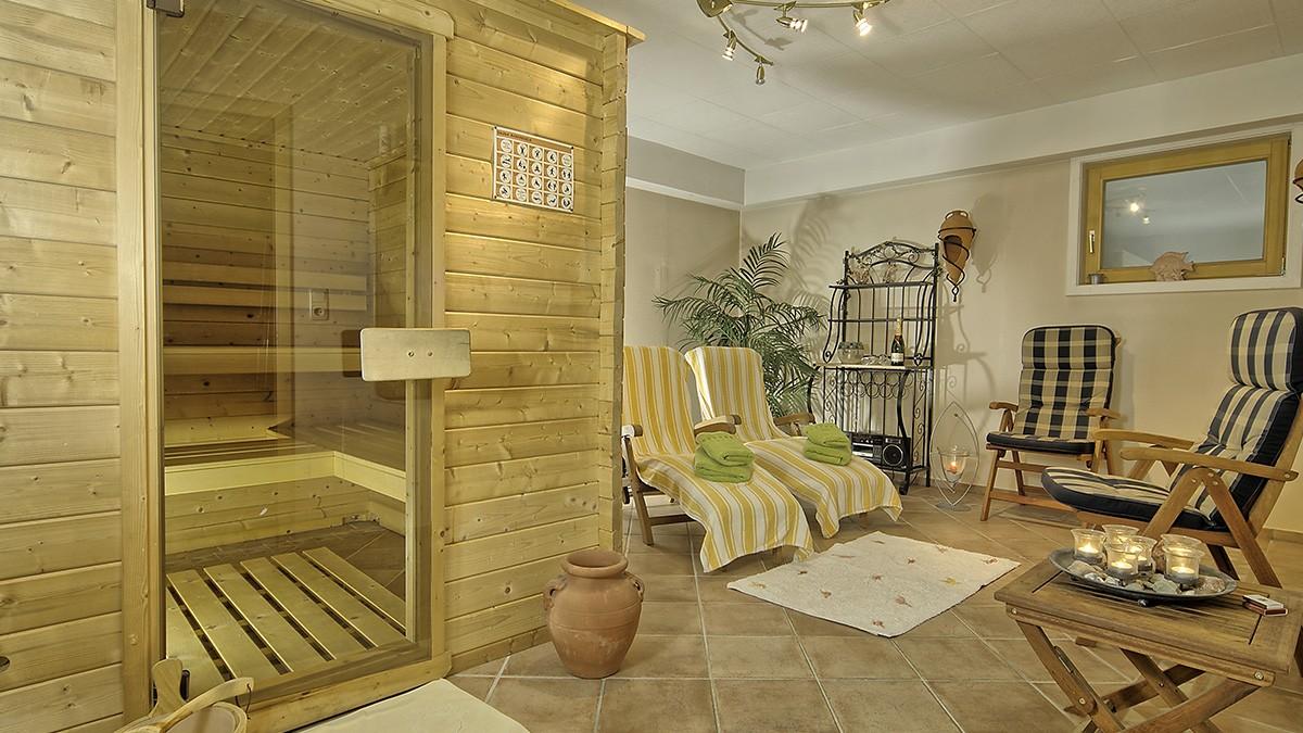 Saunabereich Landhaus Eschenbach