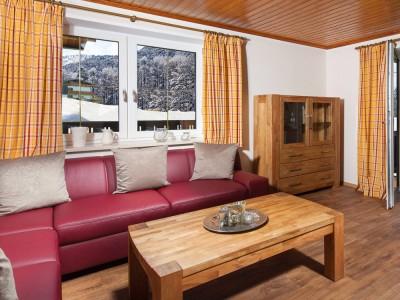 Ferienwohnung Terrasse Wohnzimmer