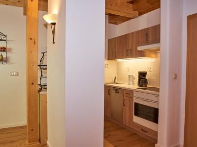 Küche Ferienwohnungen Landhaus Eschenbach