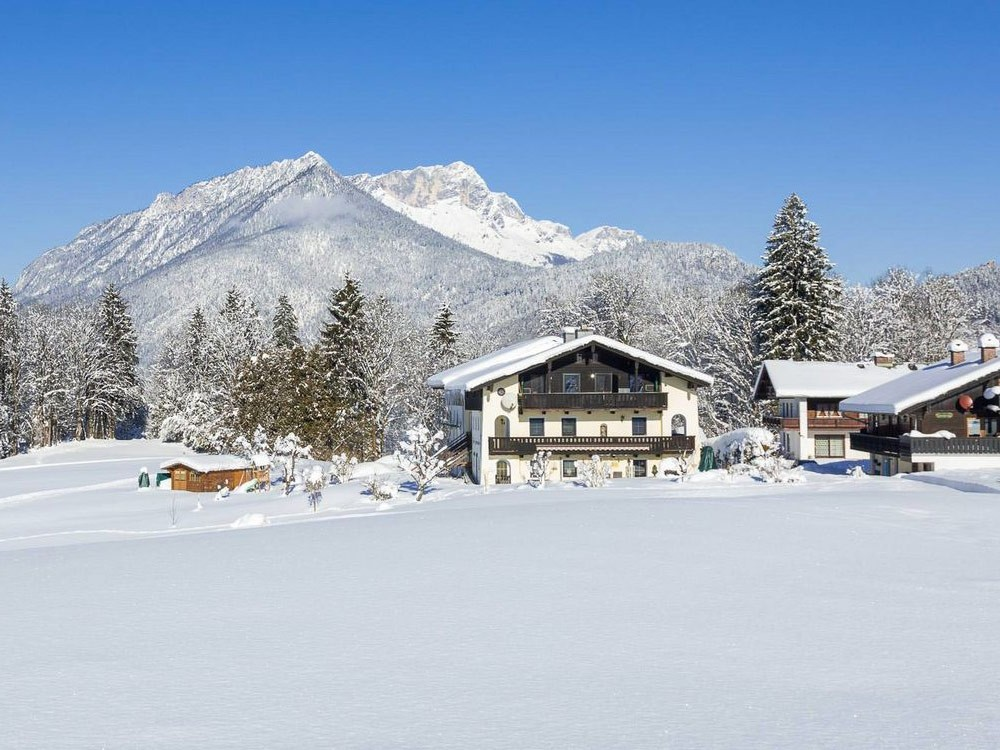Haus Sammerllehen im Winter