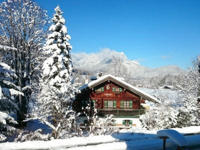 Ferienwohnungen Grünsteineck im Winter