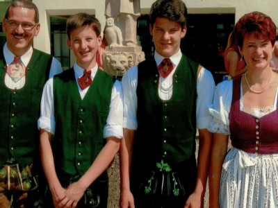 Gastgeberfamilie Burgstaller