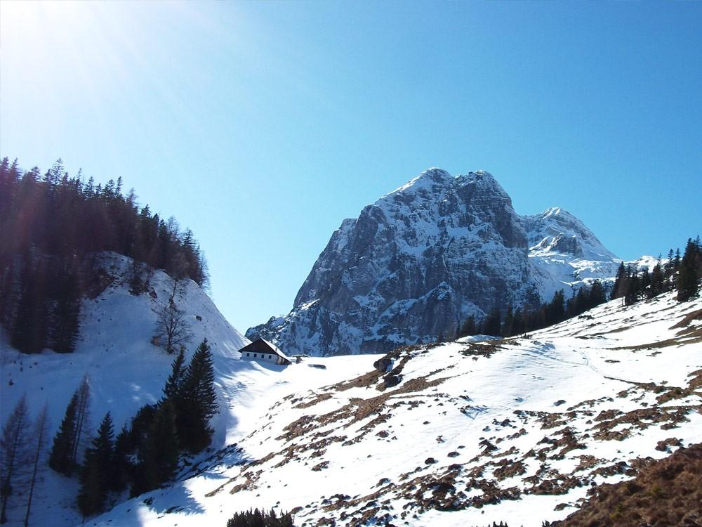 Hotel Seimler Winterwanderung zur Halsalm