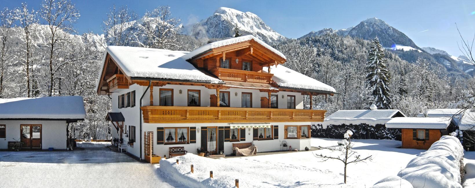 Landhaus Eschenbach im Winter