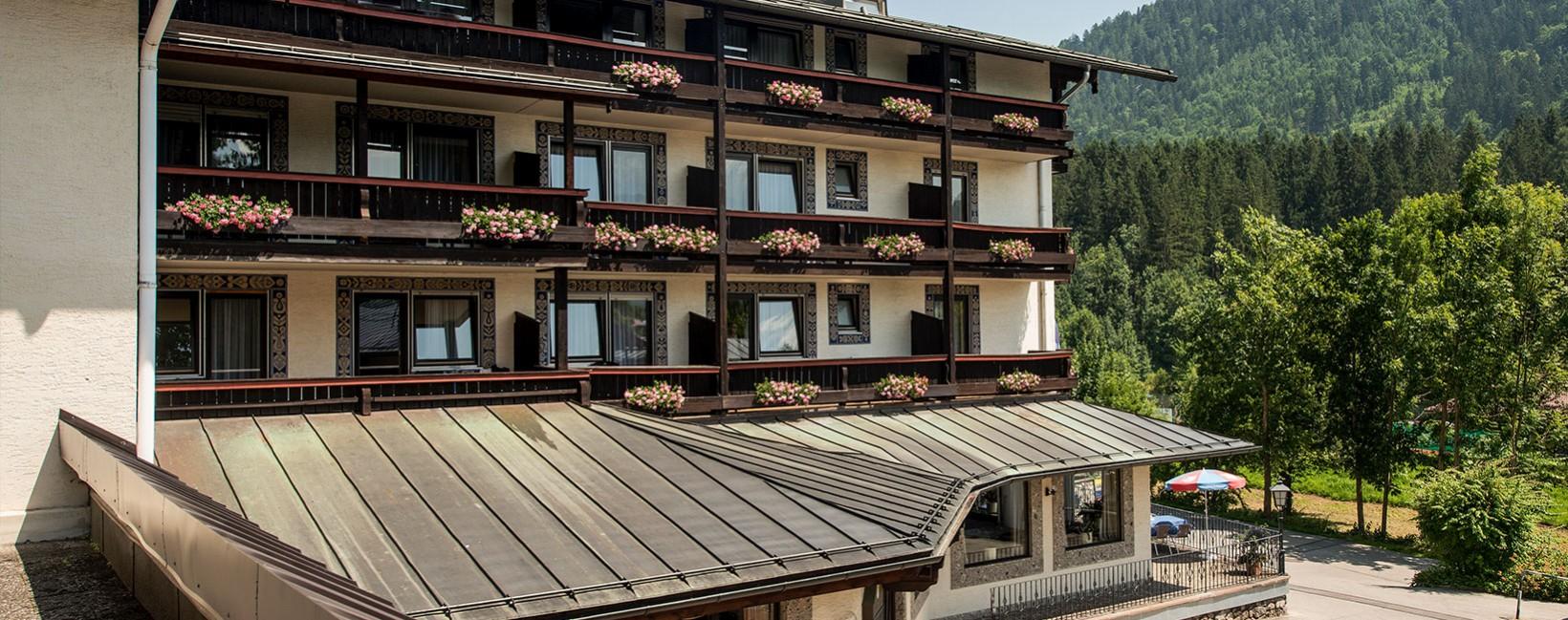 Alpensporthotel Seimler Berchtesgaden Sommer