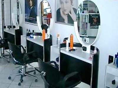 Der hauseigene Friseursalon