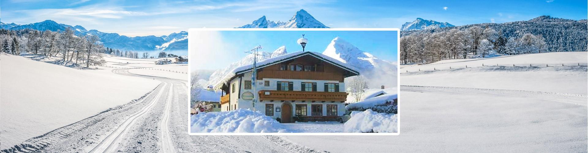 Gästehaus Watzmannblick im Winter