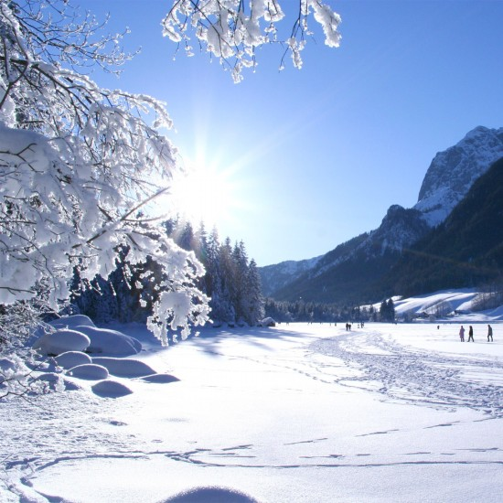 Winter am Hinersee