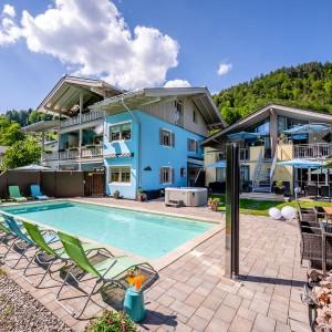 Ferienparadies Alpenglühn Außenansicht