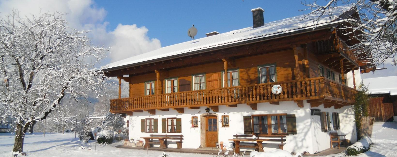 Gästehaus Rennerlehen im Winter